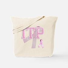 ITP initials, Pink Ribbon, Tote Bag
