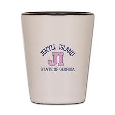 Jekyll Island - Varsity Design. Shot Glass
