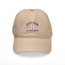 Jekyll Island - Varsity Design. Baseball Cap