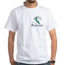With All My Heart Cervical Cancer Shirt