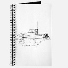 Lobster Boat Sketch Journal