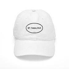 Mt Tamalpais oval Baseball Cap