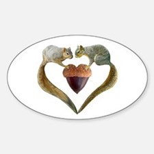 Love Squirrels Decal