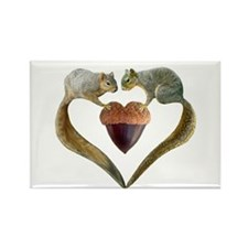 Love Squirrels Rectangle Magnet (10 pack)