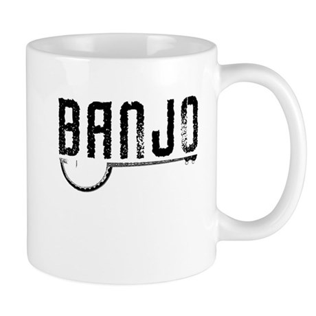 Retro Banjo Mug