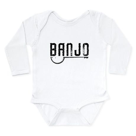 Retro Banjo Long Sleeve Infant Bodysuit