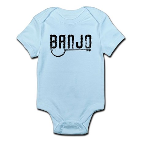 Retro Banjo Infant Bodysuit