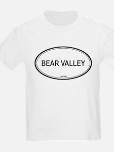 Bear Valley oval Kids T-Shirt