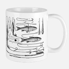 Vintage Fishing Lure Collection Mug