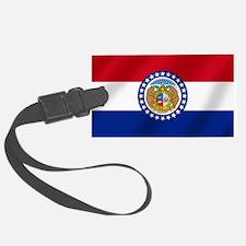 Missouri State Flag Luggage Tag