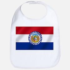 Missouri State Flag Bib
