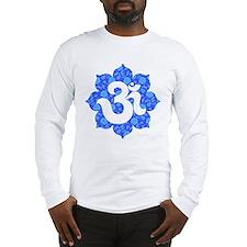 YogaGlam.com Om Lotus Long Sleeve T-Shirt