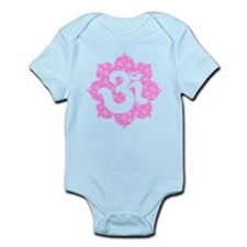 YogaGlam.com Om Lotus Infant Bodysuit