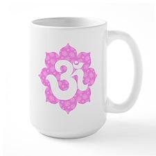 YogaGlam.com Om Lotus Mug