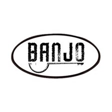 Retro Banjo Patches