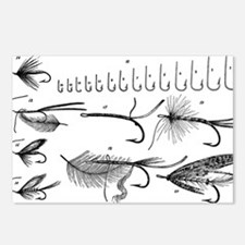Vintage Hook and Fly Collection Postcards (Package