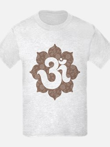 YogaGlam.com Om Lotus T-Shirt