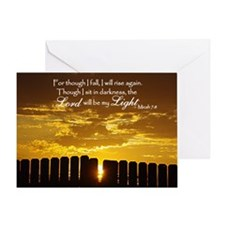 Lord will be my Light Greeting Card