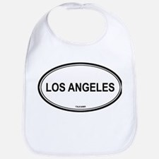 Los Angeles oval Bib