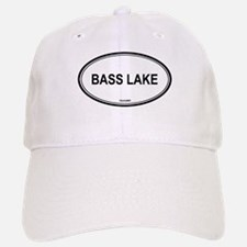 Bass Lake oval Baseball Baseball Cap
