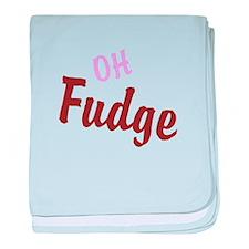 Oh Fudge baby blanket