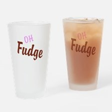 Oh Fudge Drinking Glass