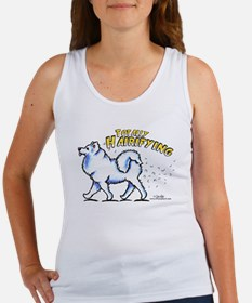 Samoyed Hairifying Women's Tank Top
