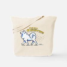 Samoyed Hairifying Tote Bag