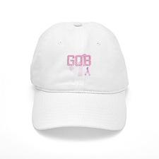 GOB initials, Pink Ribbon, Baseball Cap