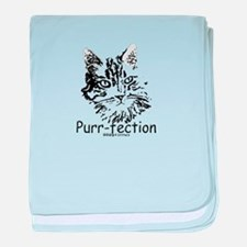 Paws4Critters Purr-fection baby blanket