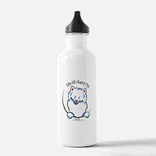 Samoyed IAAM Water Bottle