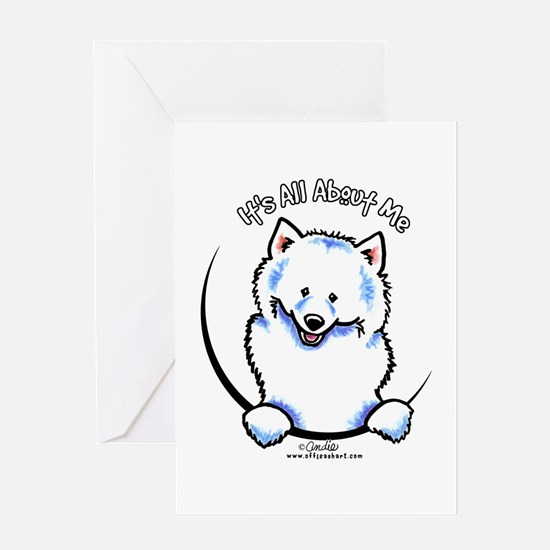 Samoyed IAAM Greeting Card