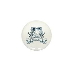 Goalie Dad Mini Button (100 pack)
