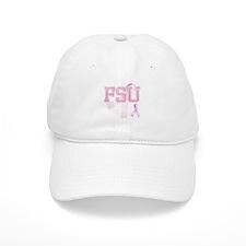 FSU initials, Pink Ribbon, Baseball Cap