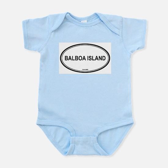 Balboa Island oval Infant Creeper
