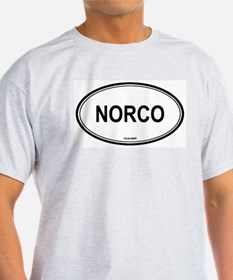 Norco oval Ash Grey T-Shirt