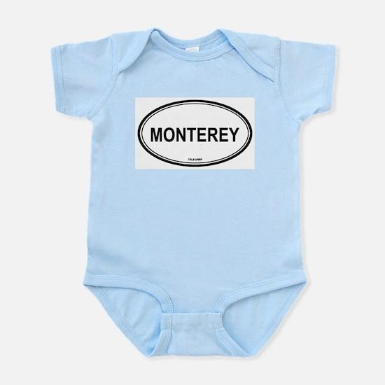 Monterey oval Infant Creeper