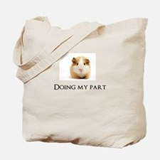 Doing My Part Tote Bag