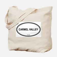 Carmel Valley oval Tote Bag