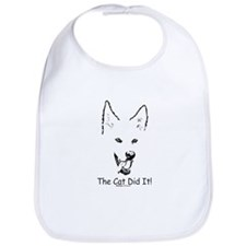 Paws4Critters The Cat Did It Bib