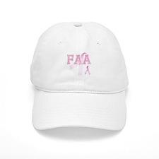 FAA initials, Pink Ribbon, Baseball Cap