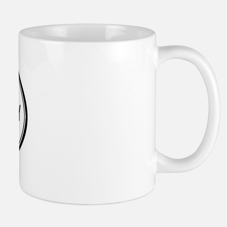 Half Moon Bay oval Mug