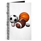 Football Journals & Spiral Notebooks