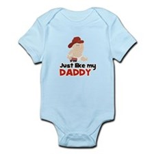 Just Like Daddy Fire Fighter Onesie