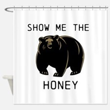 Show me the Honey! Shower Curtain
