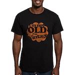 Im not old Im Vintage Men's Fitted T-Shirt (dark)