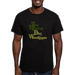 tree hugger Men's Fitted T-Shirt (dark)