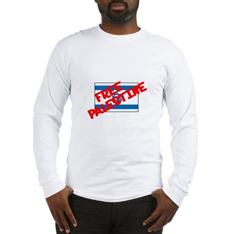 Free Palestine Long Sleeve T-Shirt