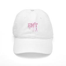 EMT initials, Pink Ribbon, Baseball Cap
