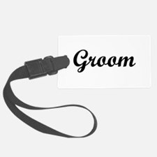 groom.png Luggage Tag